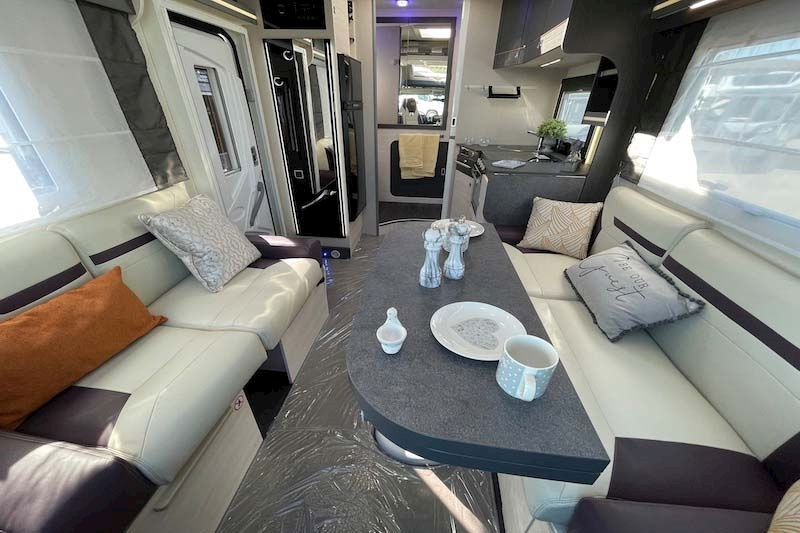 Interior view of Chausson 640 Special Edition