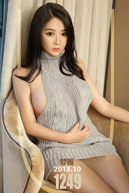 Hot and sexy big boobs photos of beautiful busty asian hottie chick Chinese booty model Meng Ni photo highlights on Pinays Finest sexy nude photo collection site.