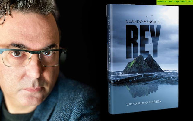 """Luis Carlos Castañeda publica su primera novela """"Cuando Venga el Rey"""""""