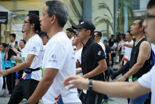'Abang' Domino's Speed and Agility Conquers   1,296 Steps In First Ever Tower Run