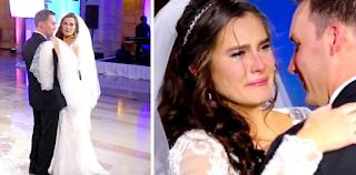 Συντετριμμένη η νύφη μόλις άκουσε το τραγούδι που έβαλε ο dj ξέσπασε σε λυγμούς. Τότε ο γαμπρός έκανε κάτι μοναδικό!