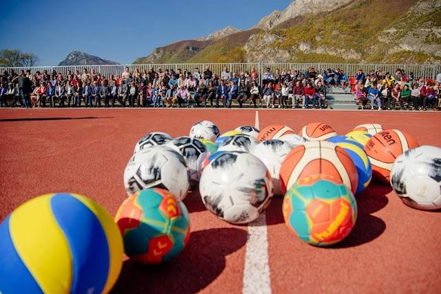 U Gusinju svečano otvoreni sportski tereni