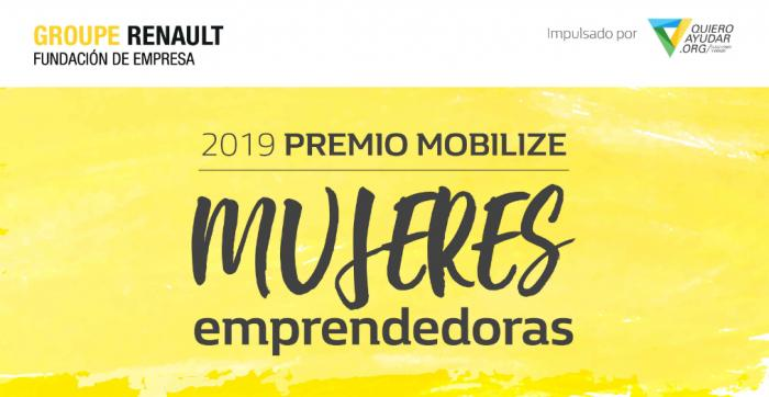 La Fundación Renault lanza el premio Mobilize para mujeres emprendedoras