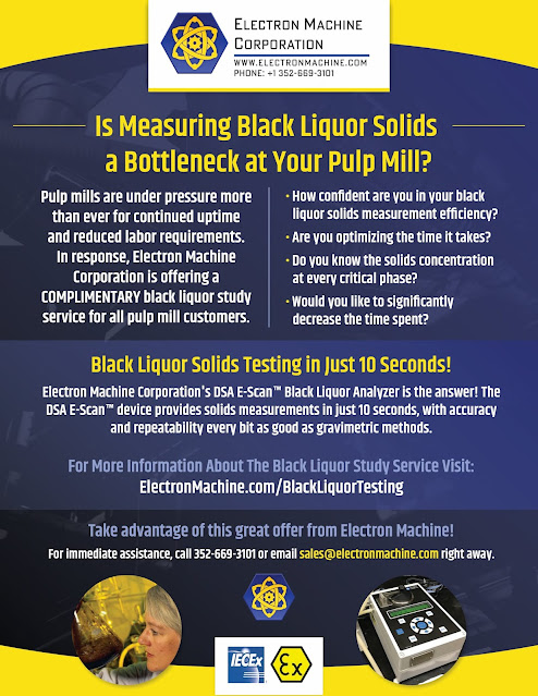 Black Liquor Testing from Electron Machine Corp.