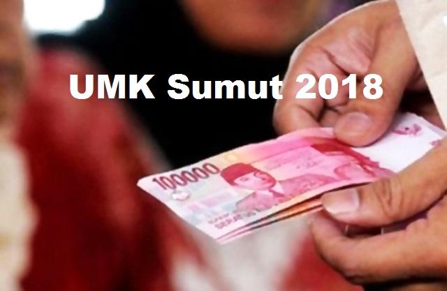 UMK (Upah Minimum Kota) Sumatera Utara 2018