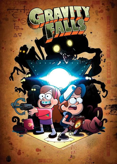 Gravity Falls: Um Verão de Mistérios - Série na Netflix