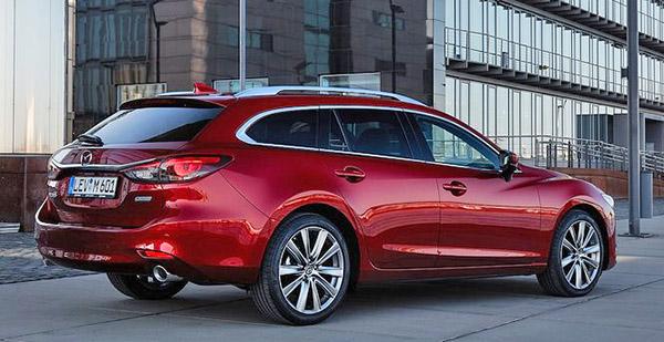 Burlappcar: 2019 Mazda 6 Wagon (Europe)