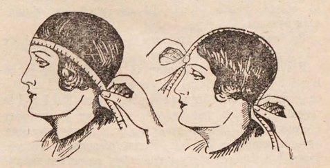 как снять мерки головы