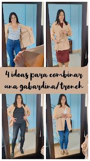 4 ideas para combinar una gabardina-trench