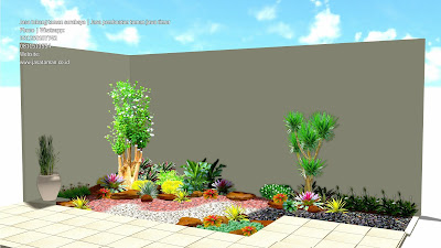 taman belakang rumah pakuwon surabaya jatim jasatamancoid