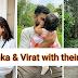 Anushka sharma and Virat kohli latest pictures