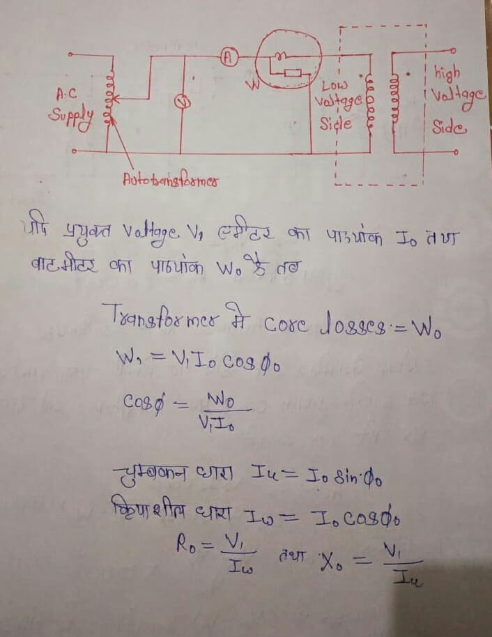 Transformer typs of testing