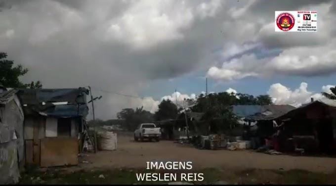 Famílias que moram no lixão a 15 KM do município de Itaituba, receberam um ato solidário da equipe do Maranhão.