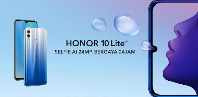 Spesifikasi Lengkap dan Harga Honor 10 Lite
