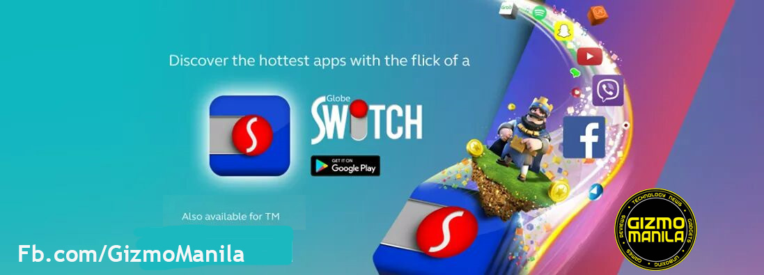 Control your mobile data usage using Globe Switch app
