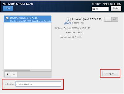Konfigurasi Hostname dan IP Address