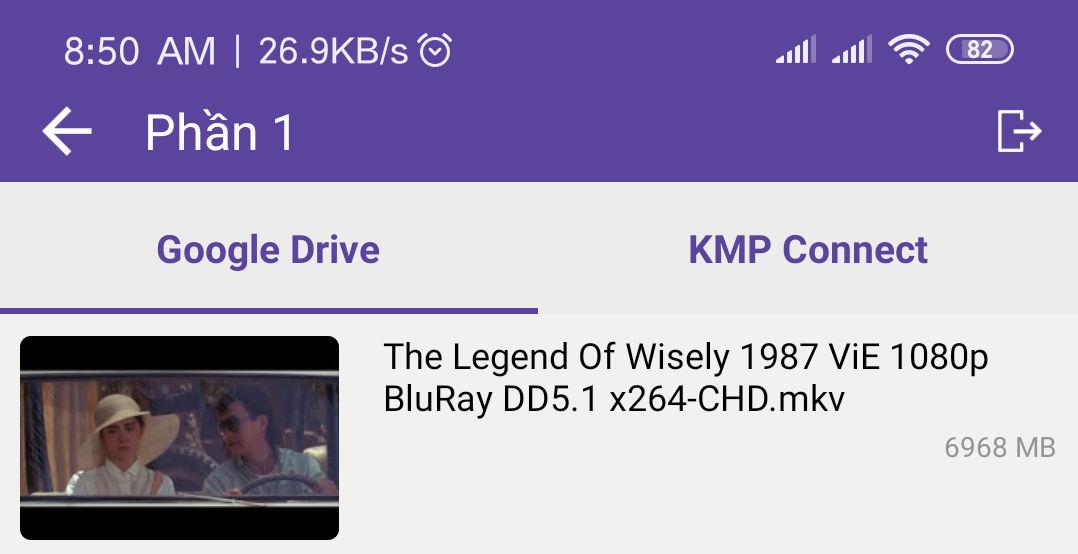 Biến KMPlayer Pro thành 1 NAS thu nhỏ để giải trí trên điện thoại và Smart Tivi chạy Android và iOS .