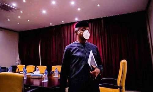 VP Osinbajo, Other Villa Officials Go into Isolation