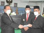 DPRD  Kab.Nias Gelar Paripurna Serah Terima Jabatan Dan Pidato Perdana Bupati & Wakil Bupati