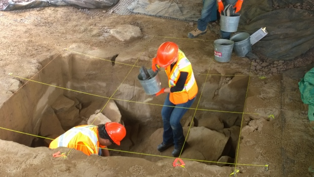 12,000 year old campsite unearthed in Canada's New Brunswick province