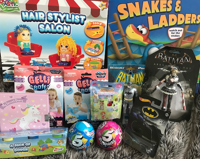 Selection of toys from PoundToy