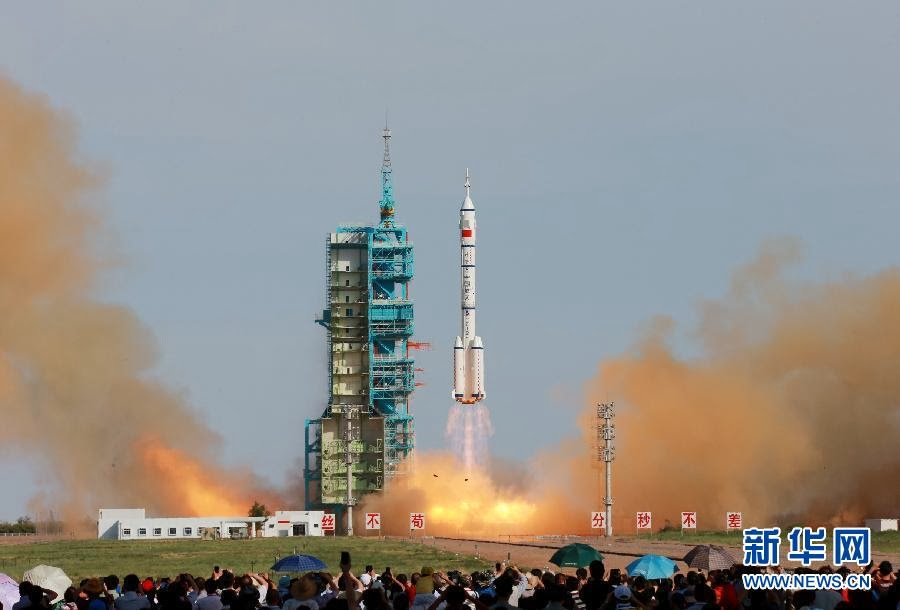 Shenzhou lanzado con un Long March
