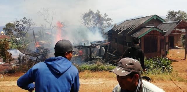 Tiga Unit Rumah di Margajaya Ludes Dilalap Sijago Merah
