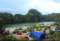 Camping di Pulau Sempu Malang Ranu Kumbolo Bromo