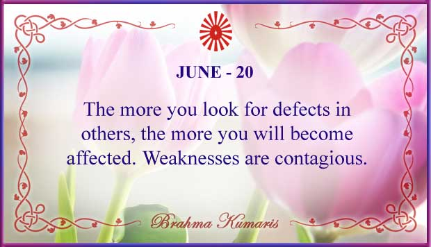 Thought For The Day June 20