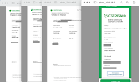 скрины сбербанка получение денег в МММ-2021