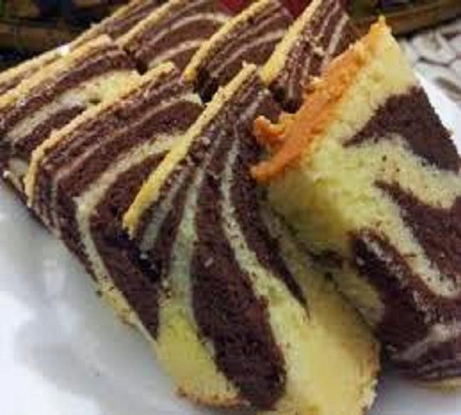 kek marble susu gebu  moist resepi sheila rusly Resepi Kek Marble Tanpa Susu Enak dan Mudah