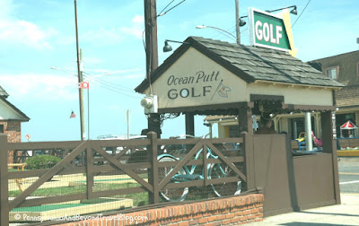 Ocean Putt Mini Golf in Cape May New Jersey