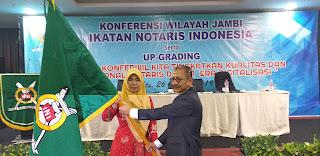 Desy Susanti Kembali Pimpin Pengwil INI Jambi Periode 2019-2022 Serta Dilantik Pengurus Pusat INI.