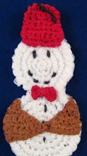 http://www.stitchesnscraps.com/wp-content/uploads/2014/10/snowman-ornament.pdf