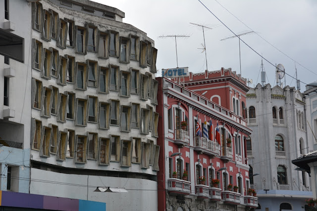 Quito modern facade
