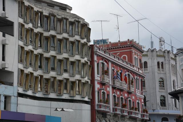 Quito modern facade