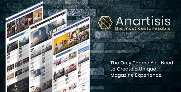 Free Blogger Theme: Anartisis - News & Magazine Blogger Theme