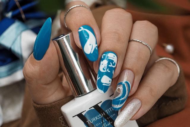 Niebieskie paznokcie | FollyNail