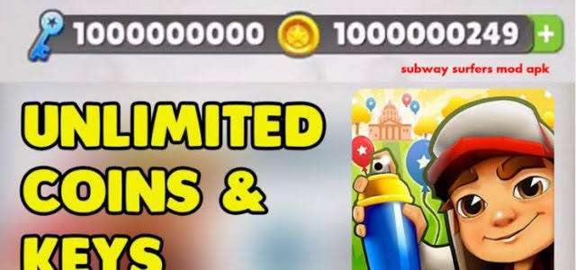 Download Subway Surfers Mod Apk 2.10.2 Unlimited Coin