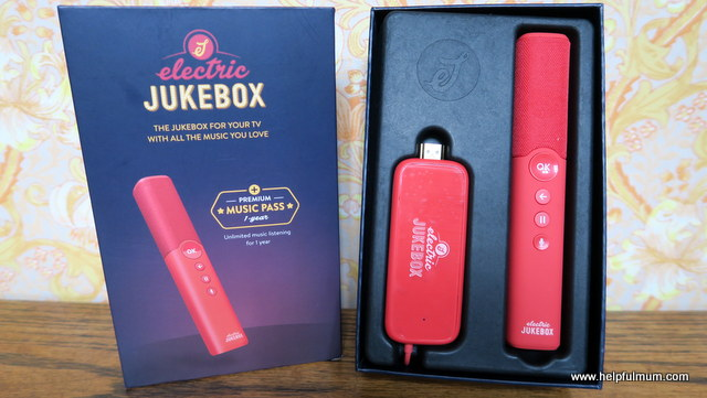 Electric Jukebox Red