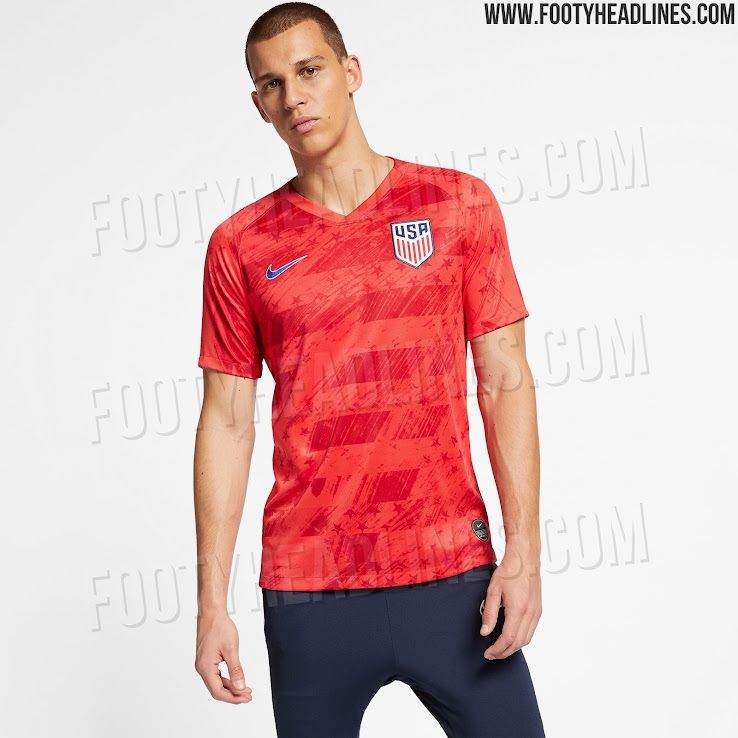 best service 48c92 dd390 Nike USA 2019 Gold Cup Away Kit Released - Footy Headlines