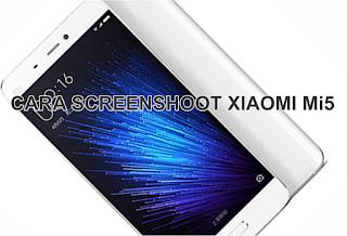 Screenshot Layar Hp Xiaomi Mi5
