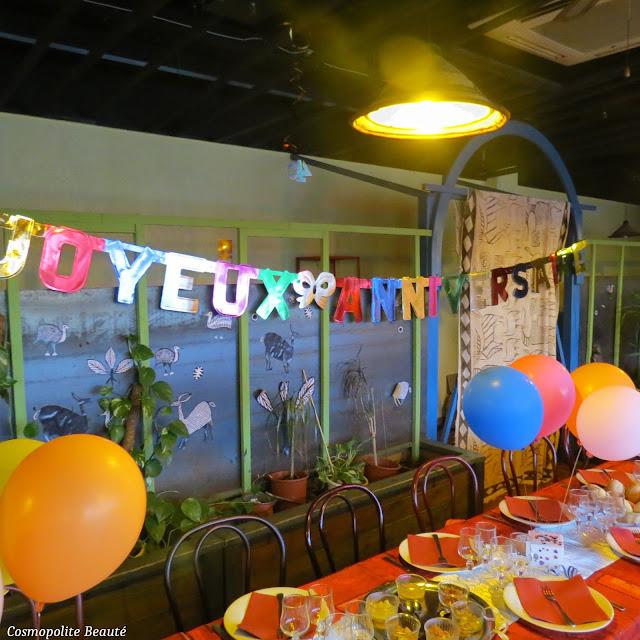 anniversaire, restaurant le Bouzou, Montpellier, 40 ans