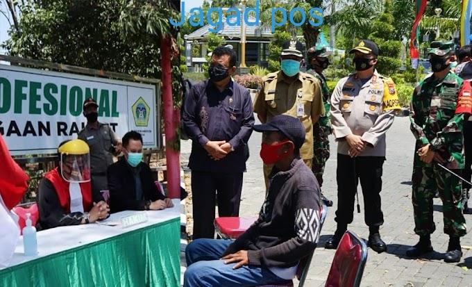 Operasi Yustisi: Penegakan Disiplin Protokol Kesehatan di Kabupaten Gresik