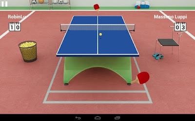 Game Bluetooth Virtual Table Tennis