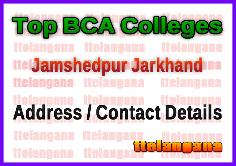 Top BCA Colleges in Jamshedpur Jarkhand