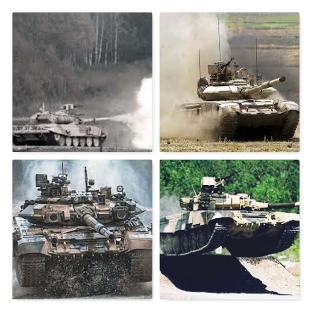 India Main Battle Tank T-90 Bhishma