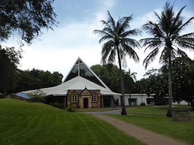 Iglesia de Darwin construida sobre la antigua iglesia del siglo XVIII