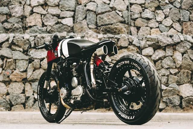 Yamaha XJ750 Maxim By Lucky Custom Hell Kustom