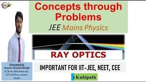 Ray Optics | JEE Mains | Physics | Concepts through Problems | Class XII | IIT-JEE | NEET | CEE